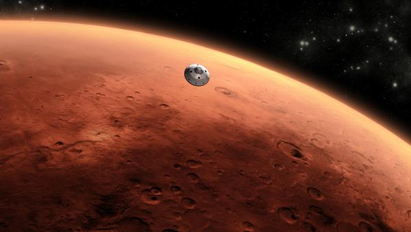 The Mars Science Laboratory spacecraft will approach Mars at 13,000 mph. The entry, descent and landing process has to guide it to a soft landing.