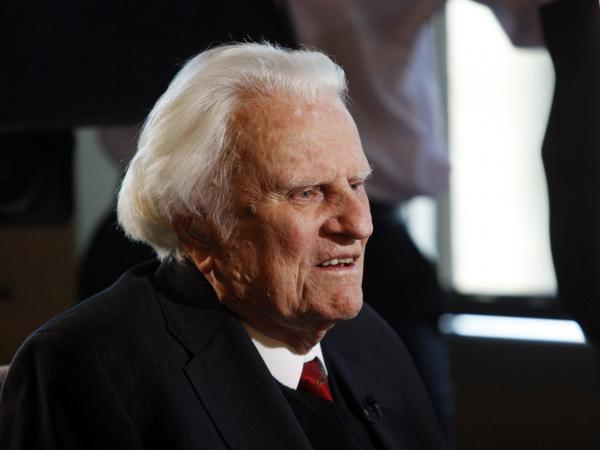 Evangelist Billy Graham is thought to be suffering from bronchitis.