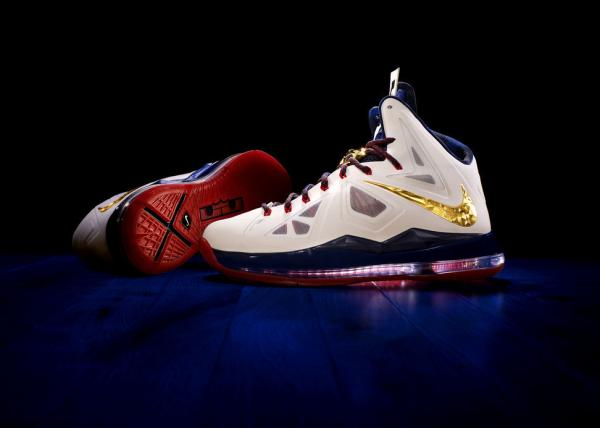 Nike's new Lebron X. Fully loaded, they will retail for $315.