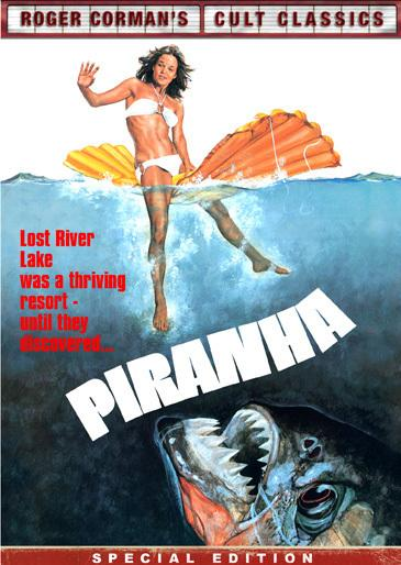 <em>Jaws</em> inspired B-movie king Roger Corman's 1978 knockoff, <em>Piranha.</em>