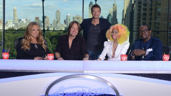Mariah Carey, Keith Urban, Ryan Seacrest, Nicki Minaj and Randy Jackson will work together on this season of <em>American Idol</em>.