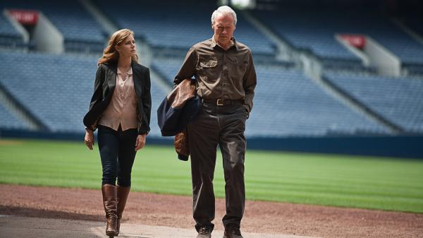 Mickey (Amy Adams), a successful lawyer, reluctantly hits the road to assist her father (Clint Eastwood), an Atlanta Braves baseball scout whose eyesight has begun to fail.