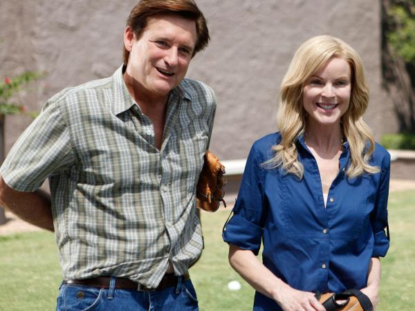 Bill Pullman plays Ken, and Marcia Cross plays his wife, Mary, in <em>Bringing Up Bobby</em>.