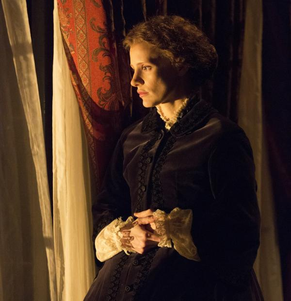 Jessica Chastain makes her Broadway debut as Catherine Sloper in <em>The Heiress. </em>Chastain says she was moved by the arc of her character's story — initially defined by the men in her life, but ultimately finding strength in herself.