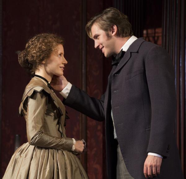 Dan Stevens — Matthew Crawley on the hit TV show <em>Downton Abbey</em> — plays Morris Townsend, Sloper's passionate but penniless suitor.