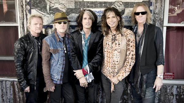 <em>Music From Another Dimension!</em>, Aerosmith's first studio album in over a decade, is out Nov. 6. Left to right: Joey Kramer, Brad Whitford, Joe Perry, Steven Tyler and Tom Hamilton.