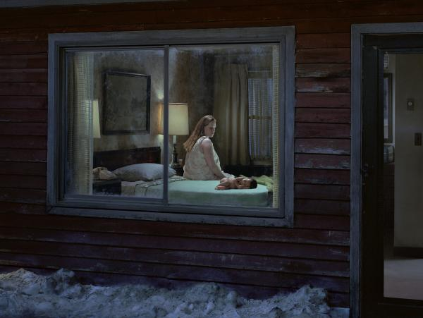 """Untitled (Birth)"" from Gregory Crewdson's <em>Beneath The Roses </em>series."