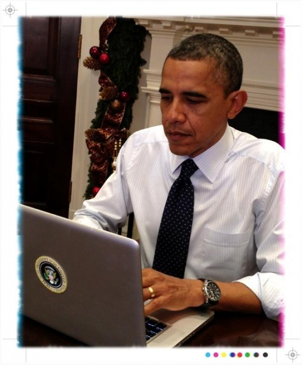 President Obama answers questions on Twitter.