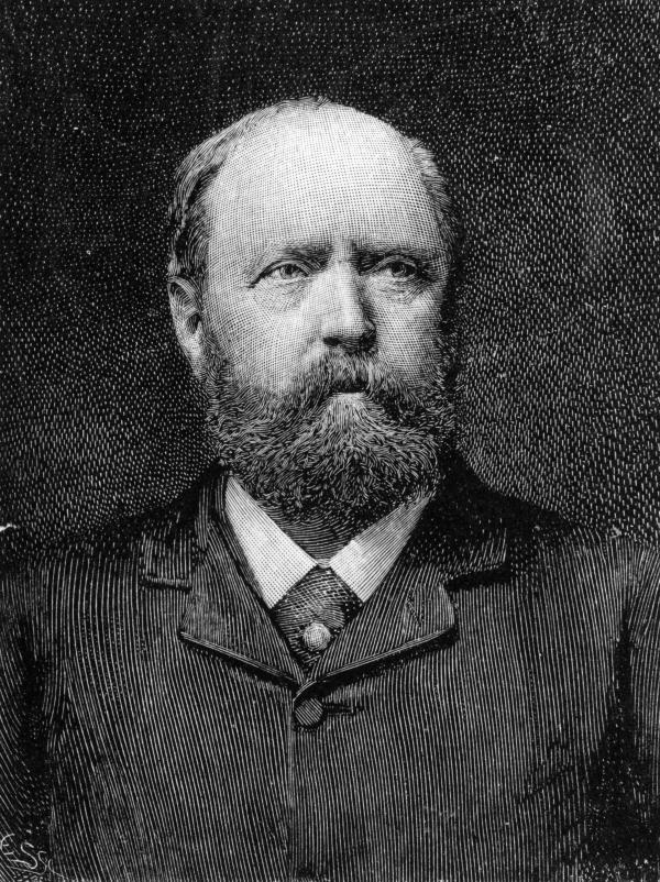 Othniel Charles Marsh was a professor of paleontology at Yale who made many dinosaur fossil discoveries, including the Apatosaurus — and the fictional Brontosaurus.