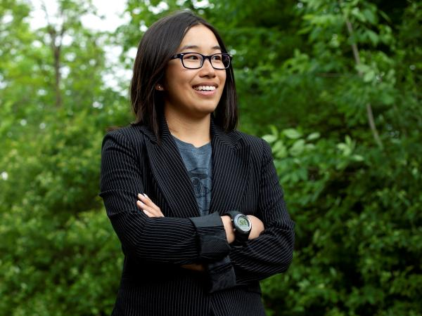 Eden Full took time off from her studies at Princeton University to work on her startup full time, after being selected for the inaugural class of the 20 Under 20 Thiel Fellowship.