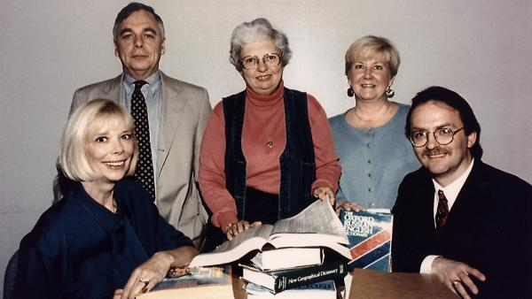 Longtime CIA agent and counterintelligence agent Jeanne Vertefeuille, pictured at center, was instrumental in uncovering undercover agents, or moles, within the organization in the 1980s and '90s.