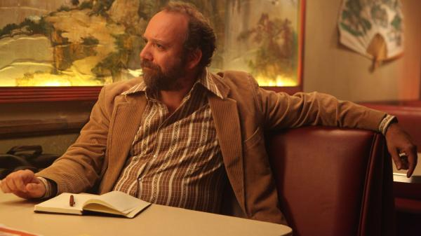 Journalist Arnie Blondestone (Paul Giamatti) interprets the bizarro story at the heart of the too-twisty horror fantasy <em>John Dies at the End.</em>
