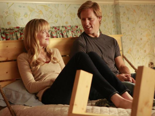Dakota Johnson and Nat Faxon star in <em>Ben & Kate</em>, recently yanked from the Fox schedule.