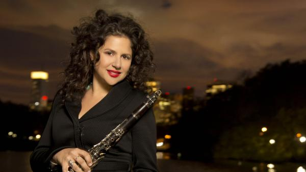 Jazz clarinetist Anat Cohen has a new album out called <em>Claroscuro</em>.