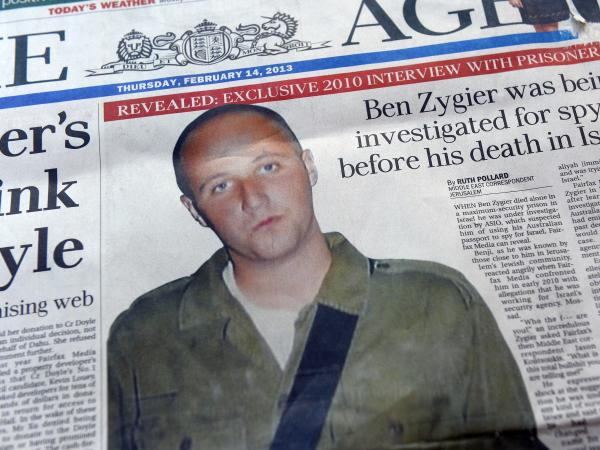 "The story of ""Prisoner X"" is dominating the media in both Australia and Israel."