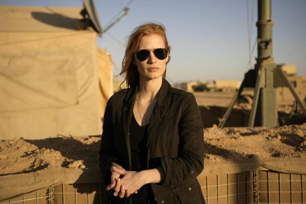 Jessica Chastain as CIA agent Maya in a scene from the film<em> Zero Dark Thirty</em>.