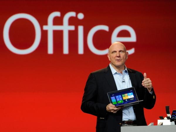 Microsoft Corp CEO Steve Ballmer speaks during a keynote address at the 2013 International CES in January.