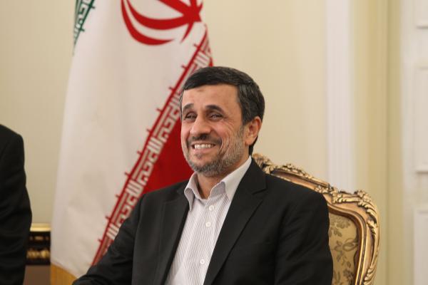 Iran's President Mahmoud Ahmadinejad.