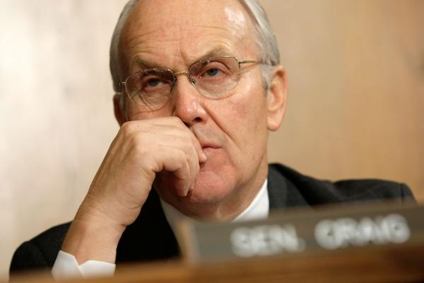 Former Sen. Larry Craig, a Republican from Idaho.