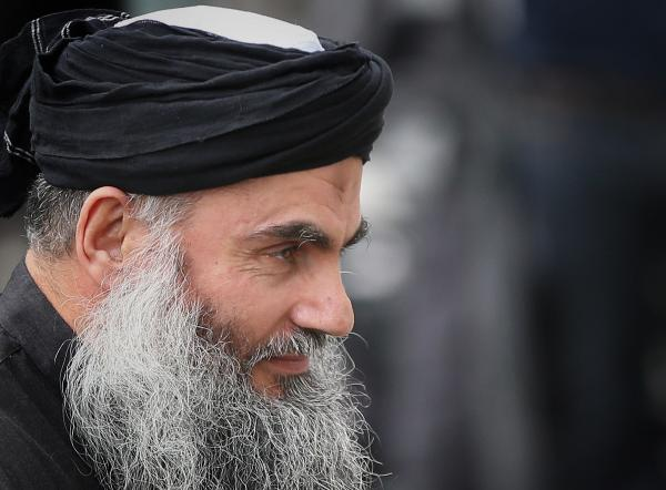 Muslim Cleric Abu Qatada arrives home after being released from prison in London, England.
