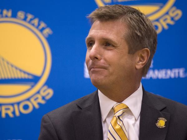 Rick Welts, the president and chief operating officer of the Golden State Warriors, recounted how Jason Collins' announcement helped him avoid a traffic ticket.