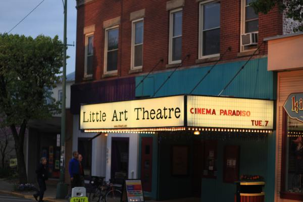 The Little Art Theatre first opened in 1929.