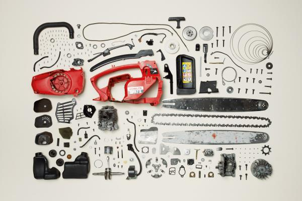<p>Chainsaw</p><p>All images from <em>Things Come Apart: A Teardown Manual for Modern Living</em>, Photographs © 2013 Todd McLellan.</p>