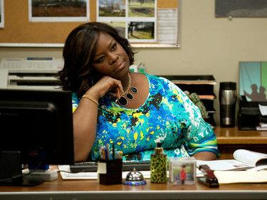 Retta as office manager Donna Meagle on NBC's <em>Parks and Recreation.</em>