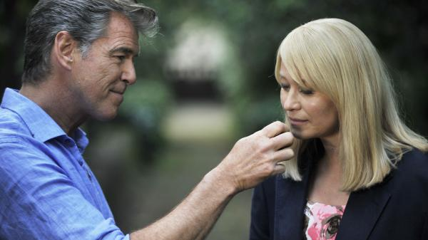 Spoiler alert: These two initially incompatible people (played by Pierce Brosnan and Trine Dyrholm) will eventually fall for each other in <em>Love Is All You Need,</em> a romantic comedy that isn't either, and whose titular premise we regret to report is not always true.