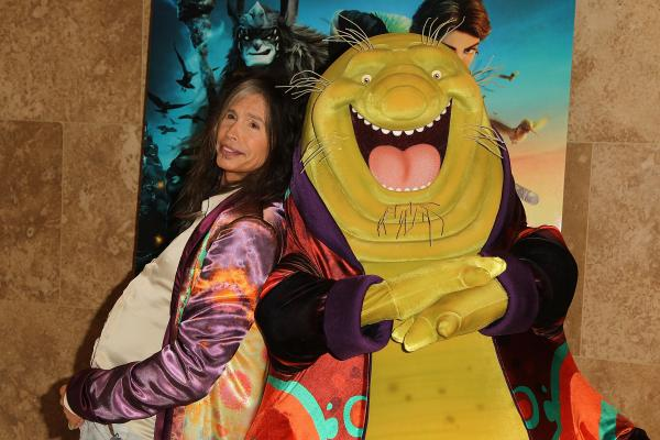 Steven Tyler poses with character Nim Galuu, the character he voices in the upcoming film <em>Epic</em>.