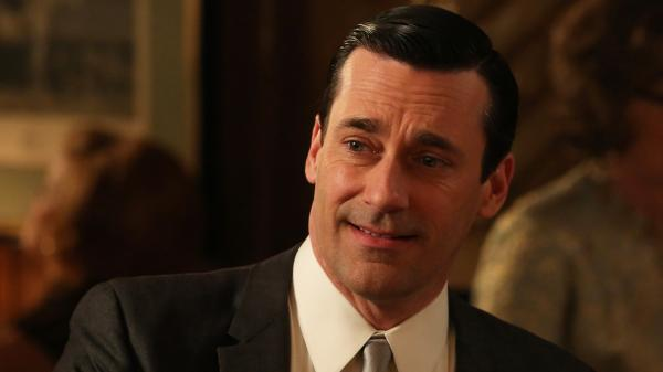 Jon Hamm as Don Draper in <em>Mad Men</em>.