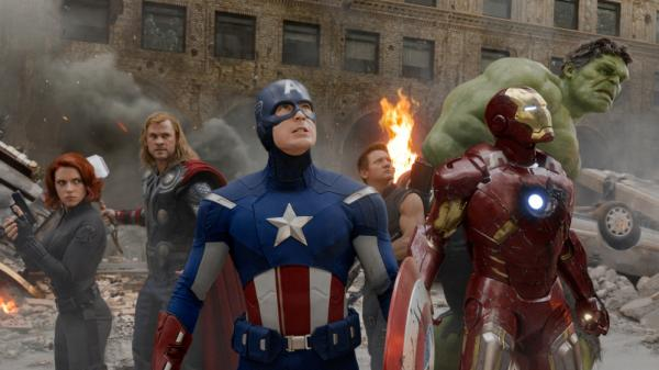 Marvel superheroes: they've arrived.