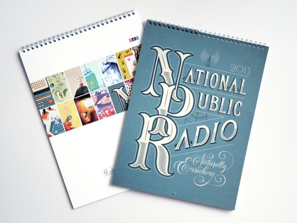 "2013 NPR Calendar Wins Gold ""ADDY"" For Creative Services and Branding Team"