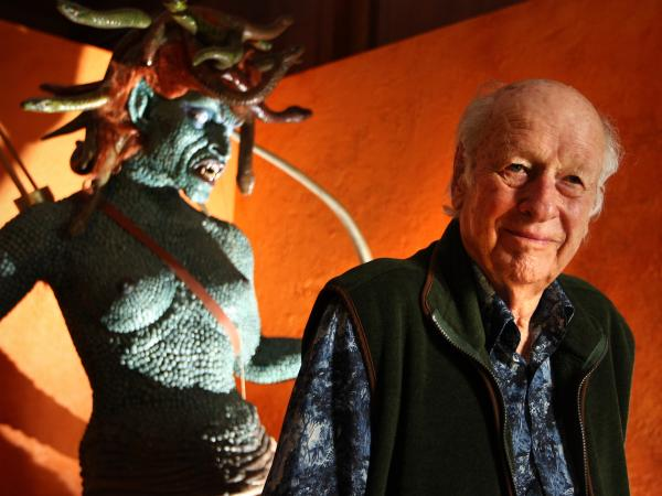 Medusa from 1981's <em>Clash of the Titans</em> is among legendary animator Ray Harryhausen's many creations.
