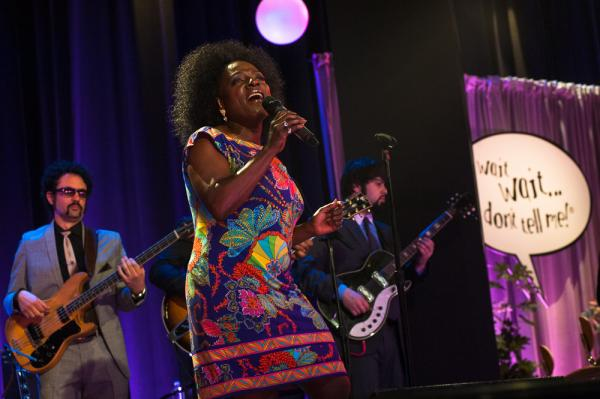 Sharon Jones & the Dap-Kings played between segments and even offered a funky version of the <em>Wait Wait... Don't Tell Me!</em> theme music.