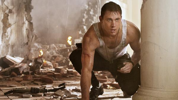 Channing Tatum stars in <em>White House Down</em>.