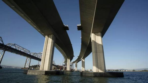 It's uncertain whether the Bay Bridge connecting San Francisco and Oakland will be ready for its planned grand opening on Labor Day, as engineers work to solve a problem stemming from broken steel rods.