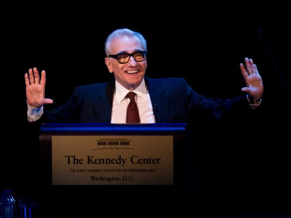 Animated as ever when it comes to the topic of film, director Martin Scorsese delivers the 2013 Jefferson Lecture in the Humanities at the Kennedy Center on April 1.