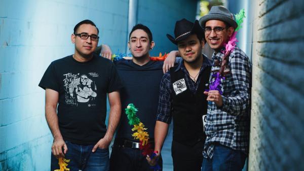 Piñata Protest's new album, <em>El Valiente</em>, comes out May 21.