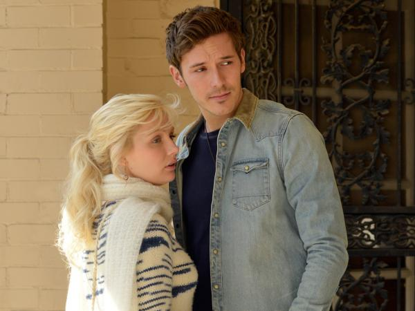 "Characters Scarlett O'Connor and Gunnar Scott are young, unknown artists in <em>Nashville,</em> just like the songwriters behind their song, ""When the Right One Comes Along."""