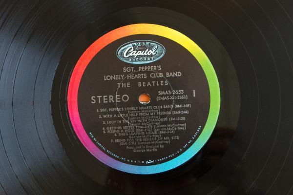 <strong>Capitol Records<br /></strong>(<em>Sgt. Pepper's Lonely Hearts Club Band</em> by The Beatles, 1967)