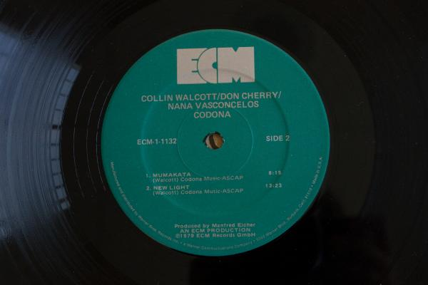 <strong>ECM Records</strong> <br />(<em>Codona</em> by Collin Walcott, Don Cherry and Nana Vasconcelos, 1980)