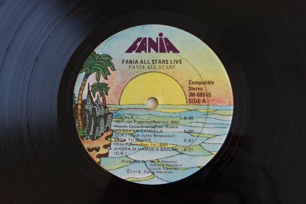 <strong>Fania Records</strong> <br />(<em>Fania All Stars Live</em> by Fania All Stars, 1978)