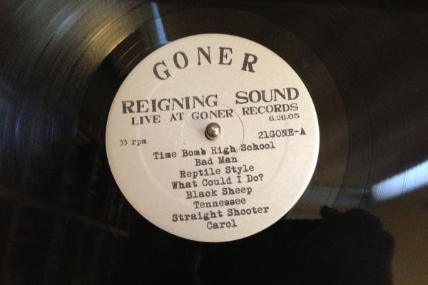 <strong>Goner Records</strong><br />(<em>Live at Goner Records</em> by The Reigning Sound, 2005)