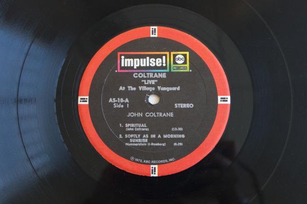 "<strong>Impulse! Records</strong><br />(<em>Coltrane ""Live"" at the Village Vanguard</em> by John Coltrane, 1962)"