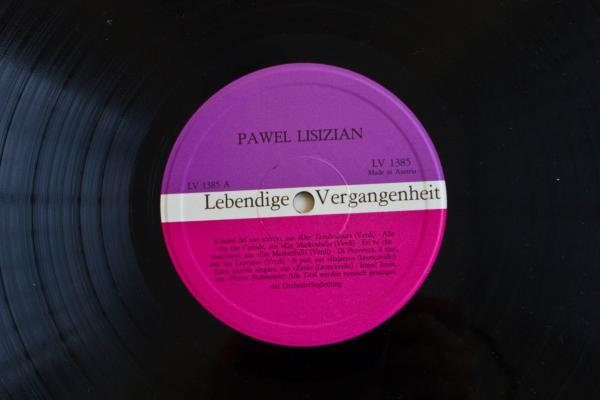 Lebendige Vergangenheit (Preiser Records)<br />(performances by Pawel Lisizian)