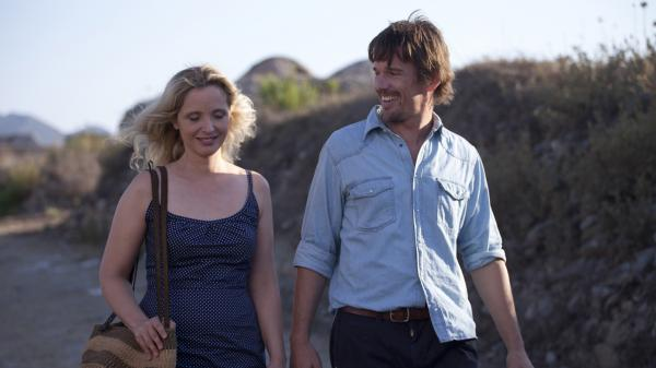 <em>Before Midnight</em> is the third film in Richard Linklater's series that explores the romance and life of a couple, Jesse (Ethan Hawke) and Celine (Julie Delpy). The two previous films were <em>Before Sunrise</em> and <em>Before Sunset</em>.