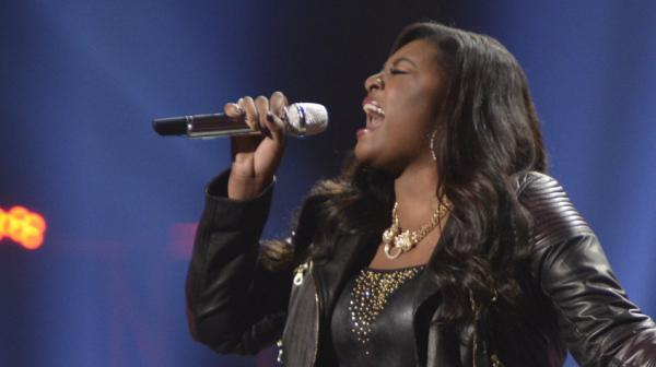 Candice Glover competes Thursday night for the <em>American Idol</em> win.