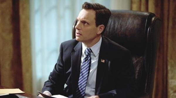 Tony Goldwyn as Fitz on <em>Scandal</em>.