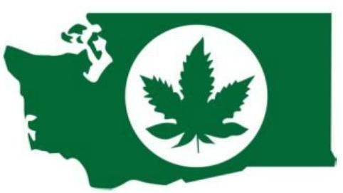 Branded: The official state of Washington marijuana logo.